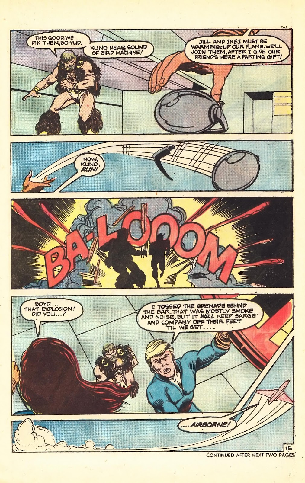Read online Doomsday   1 (1975) comic -  Issue #5 - 21