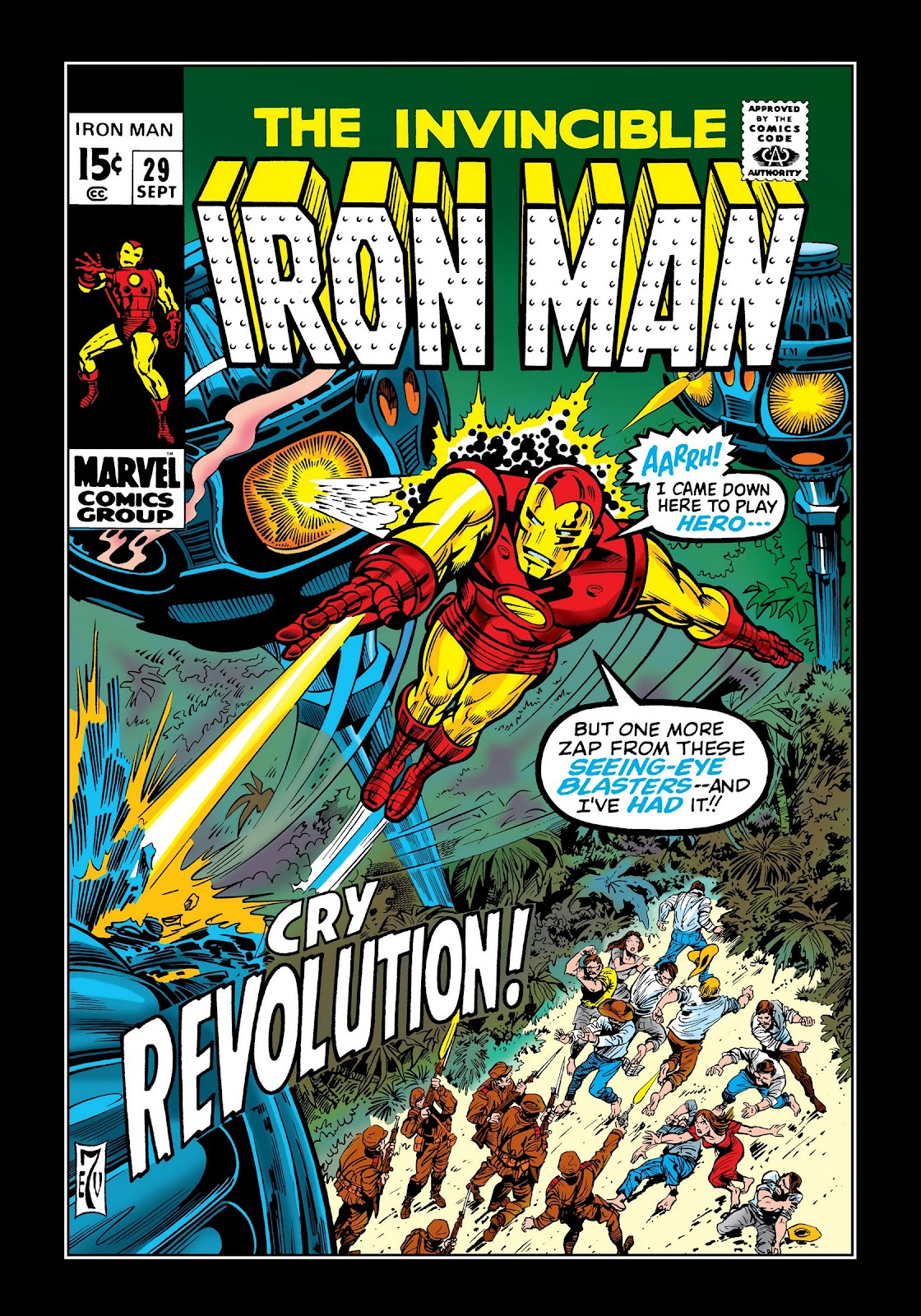 Read online Marvel Masterworks: The Invincible Iron Man comic -  Issue # TPB 7 (Part 1) - 69