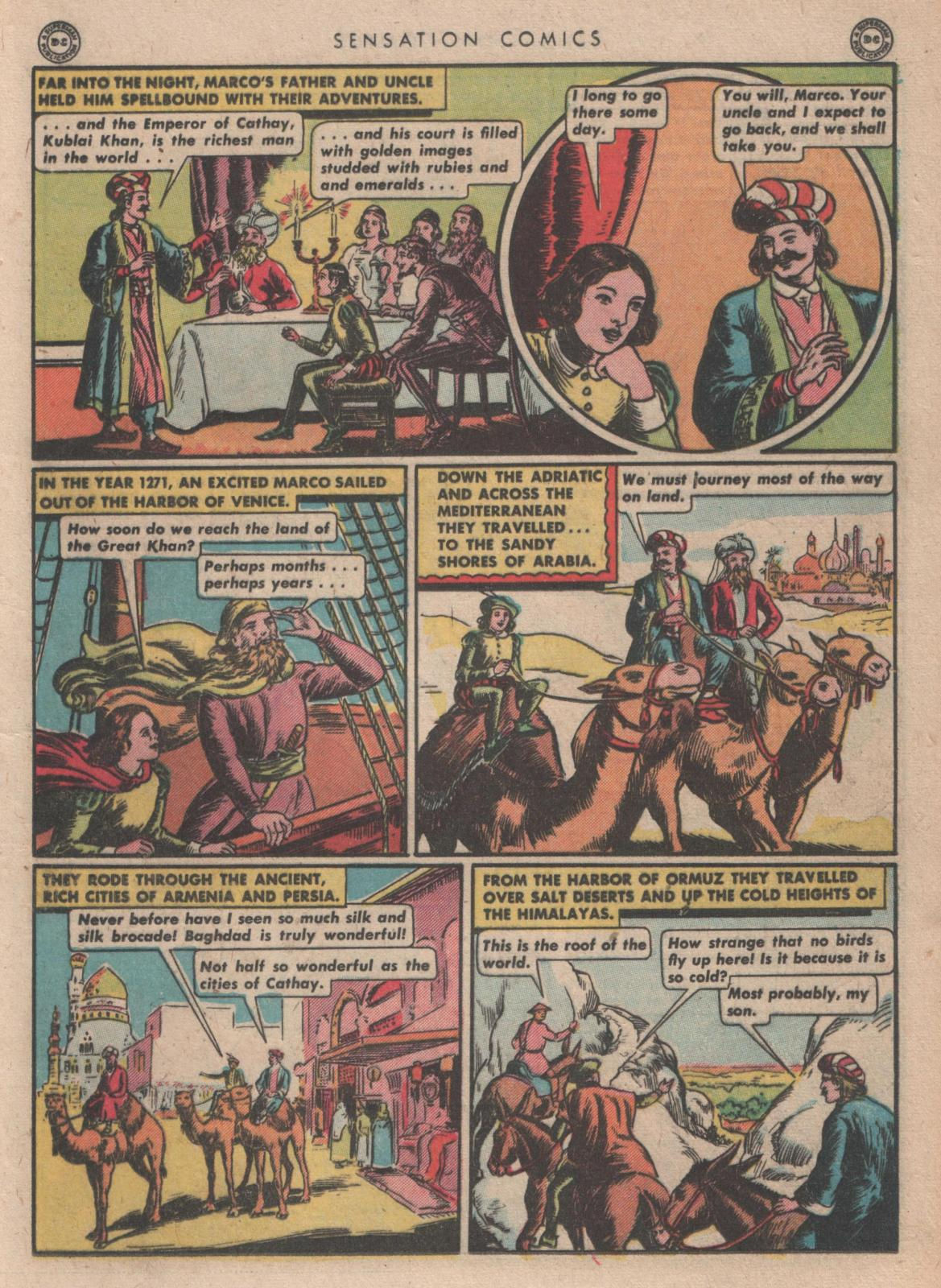 Read online Sensation (Mystery) Comics comic -  Issue #35 - 25