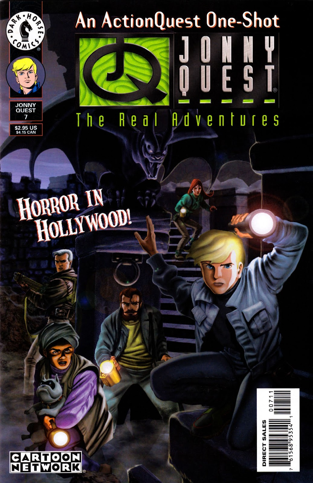 Read online The Real Adventures of Jonny Quest comic -  Issue #7 - 1
