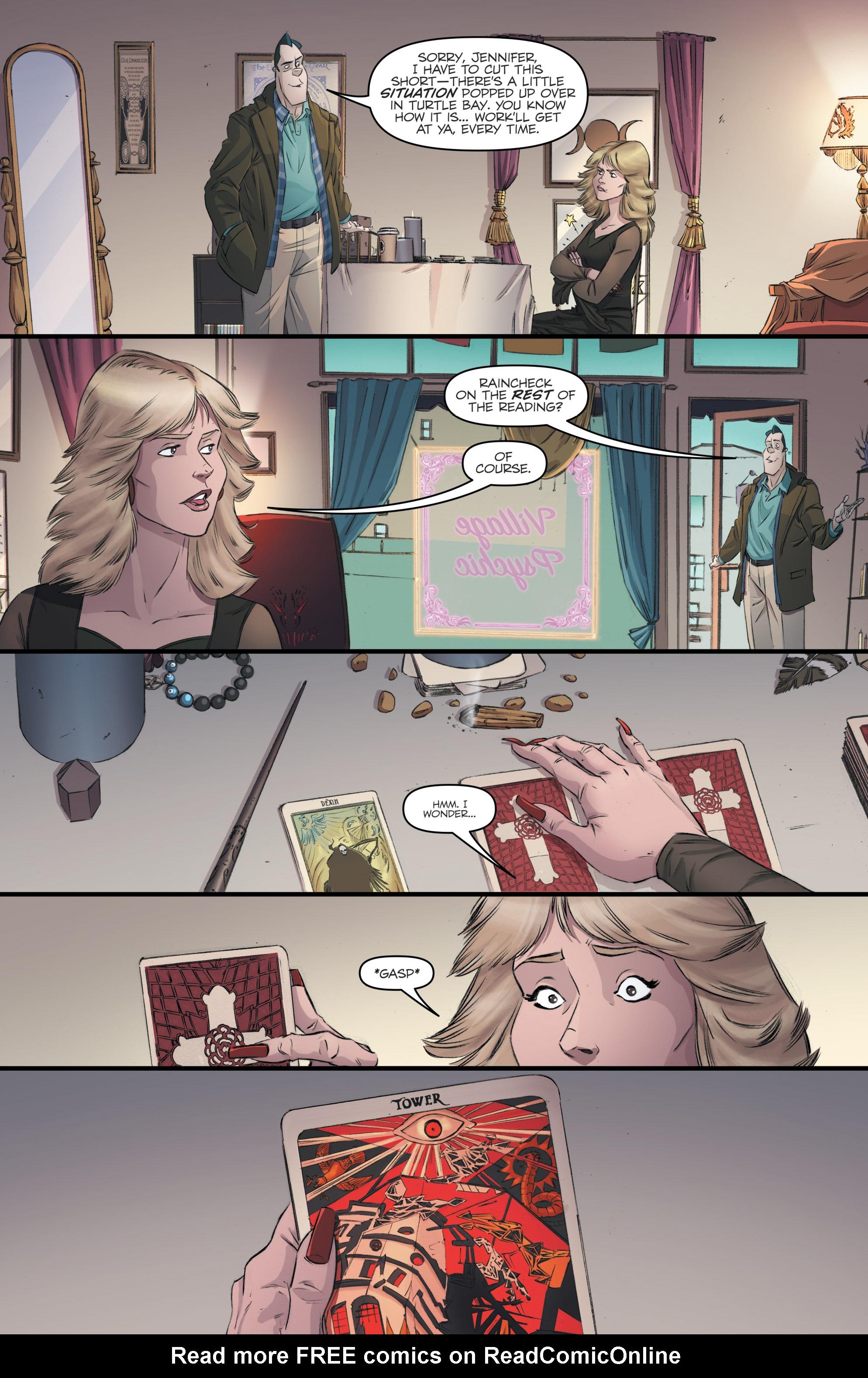 Read online Skylanders Superchargers comic -  Issue #4 - 28
