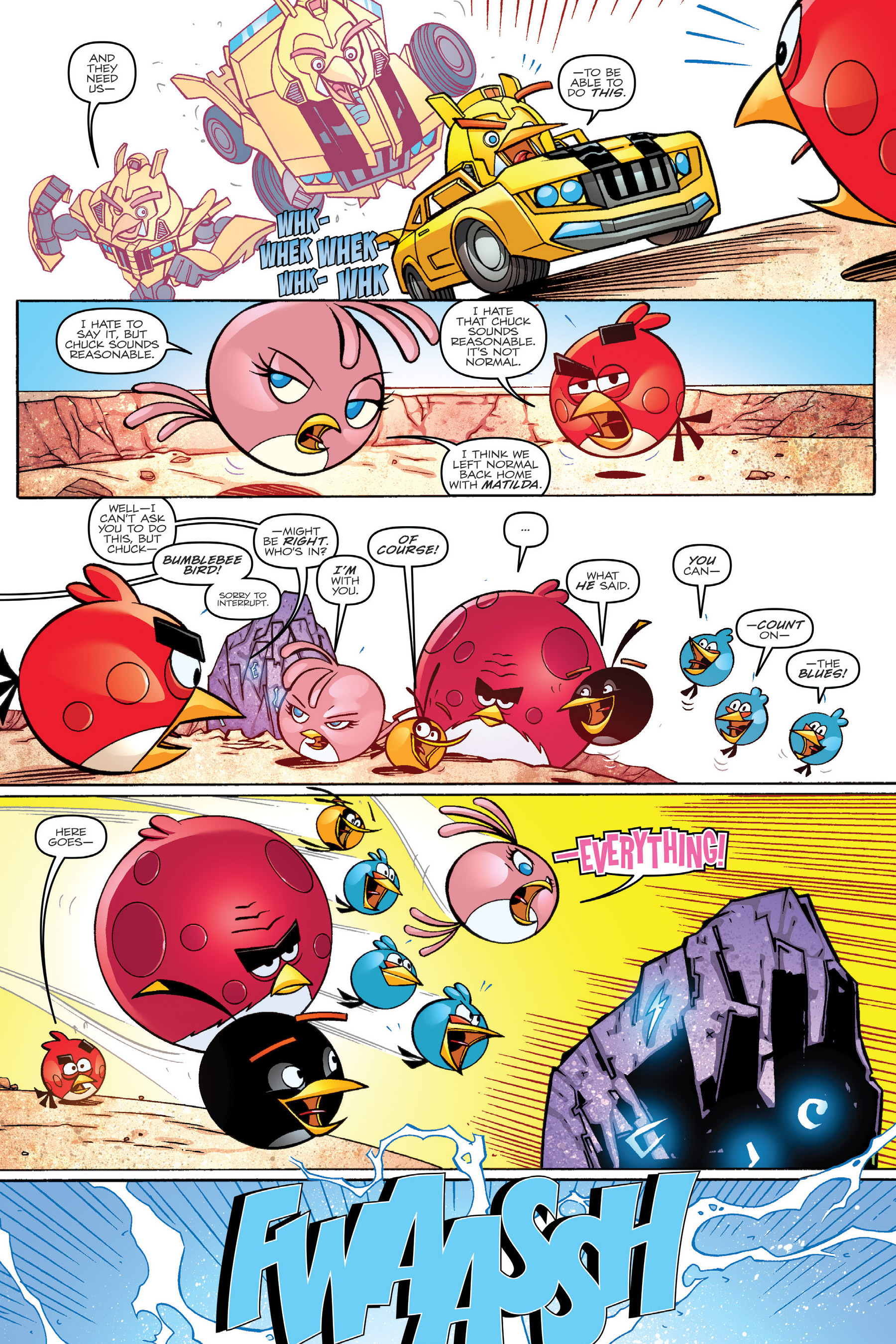 Read online Angry Birds Transformers: Age of Eggstinction comic -  Issue # Full - 32