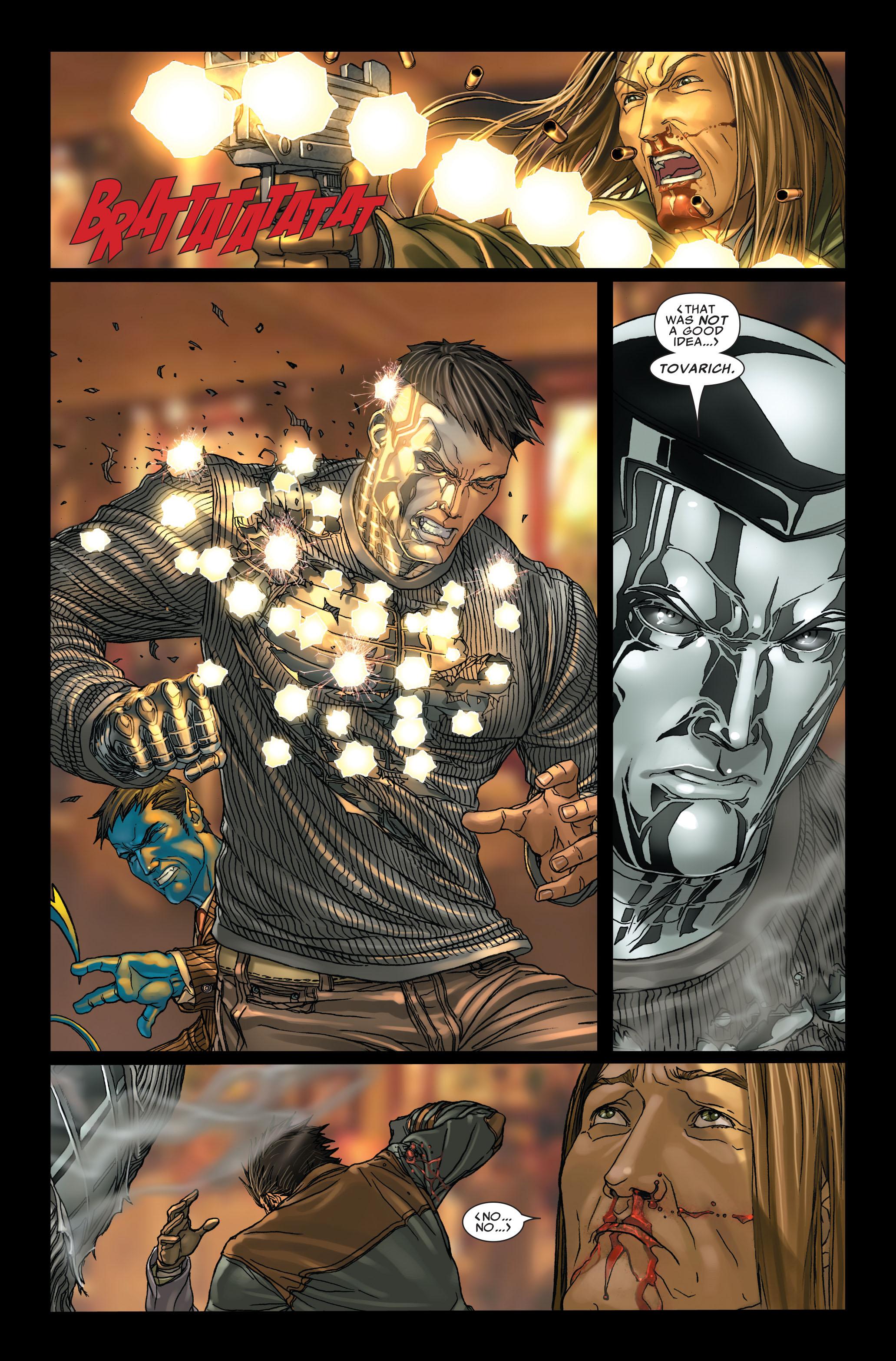 Read online Uncanny X-Men (1963) comic -  Issue #496 - 21