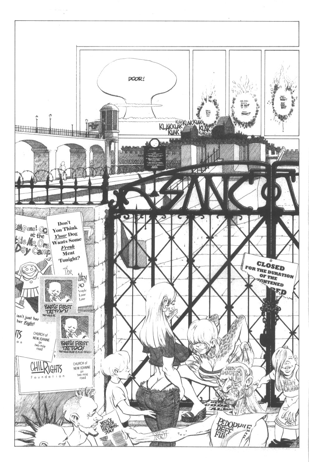 Cerebus Issue #296 #294 - English 4