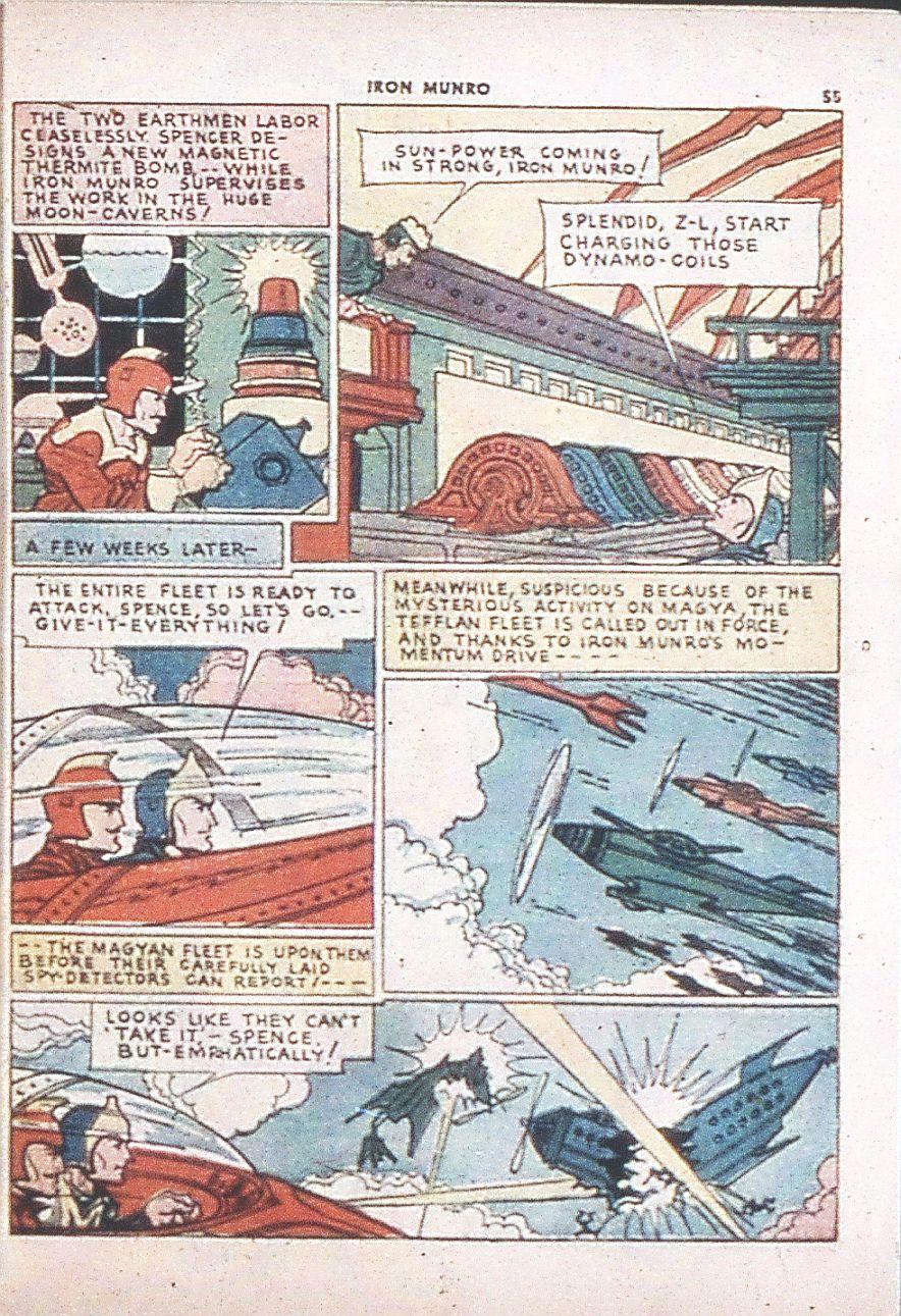 Read online Shadow Comics comic -  Issue #6 - 57