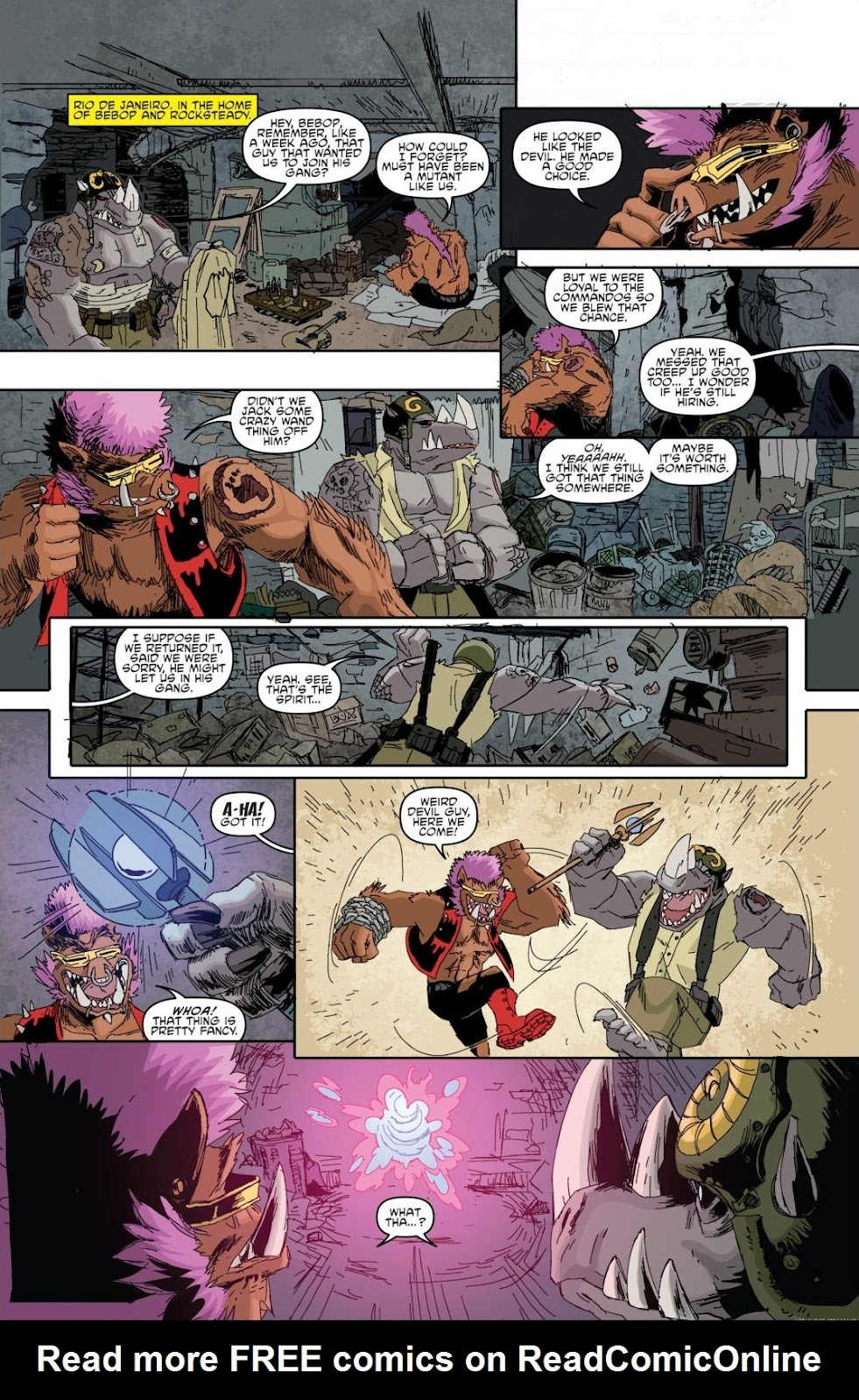Read online Teenage Mutant Ninja Turtles: The IDW Collection comic -  Issue # TPB 8 (Part 1) - 21