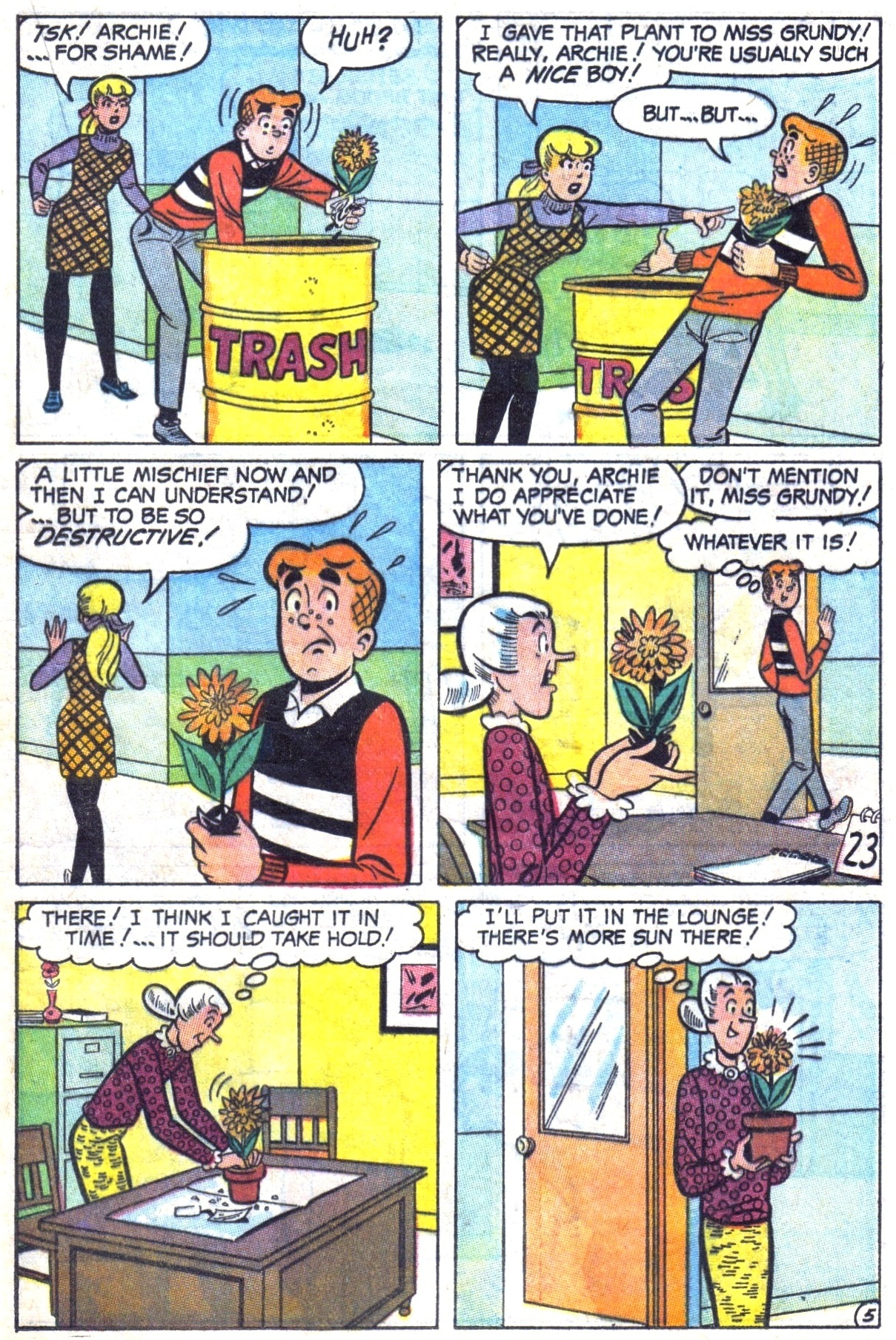 Read online Archie (1960) comic -  Issue #182 - 17