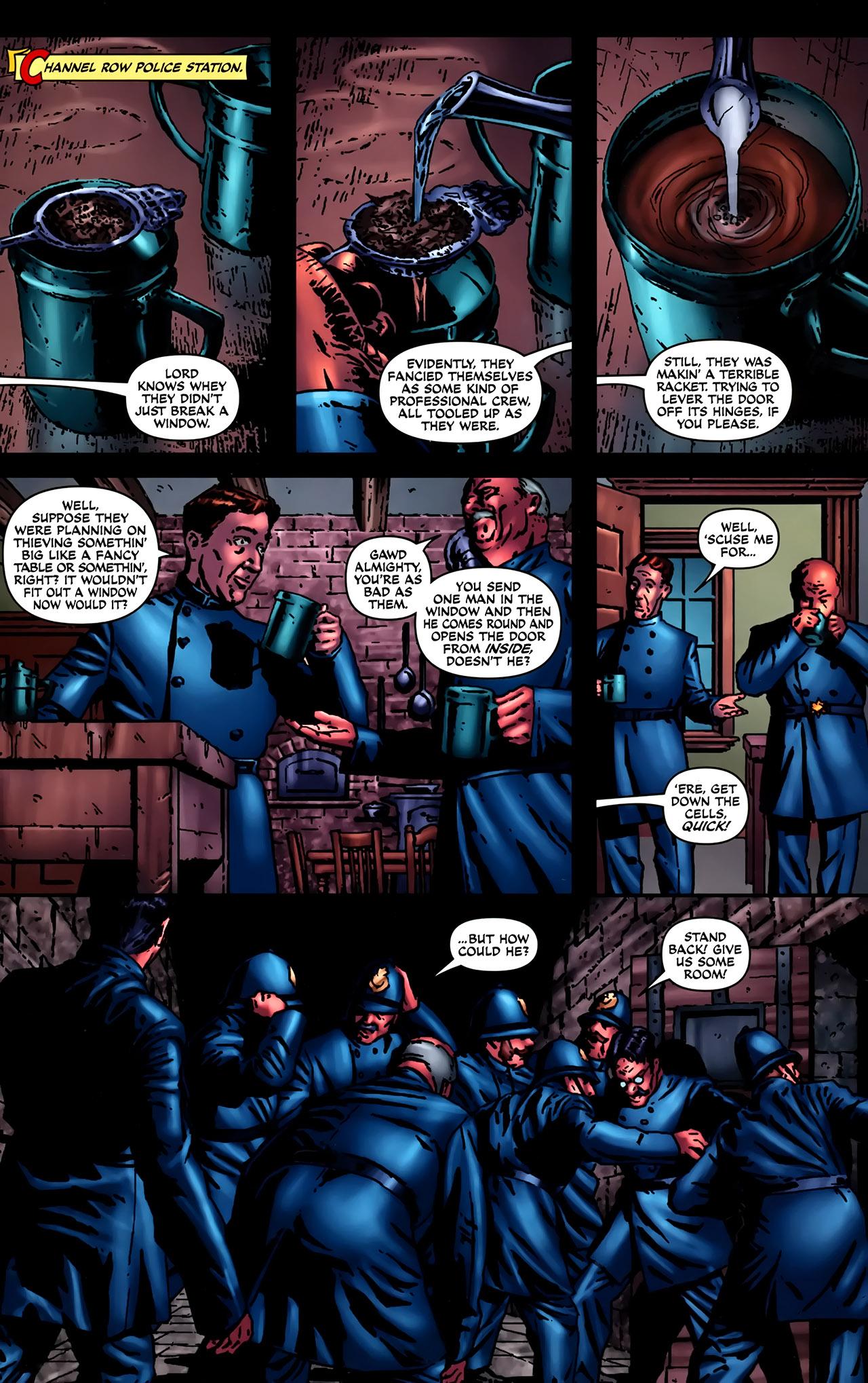 Read online Sherlock Holmes (2009) comic -  Issue #2 - 22