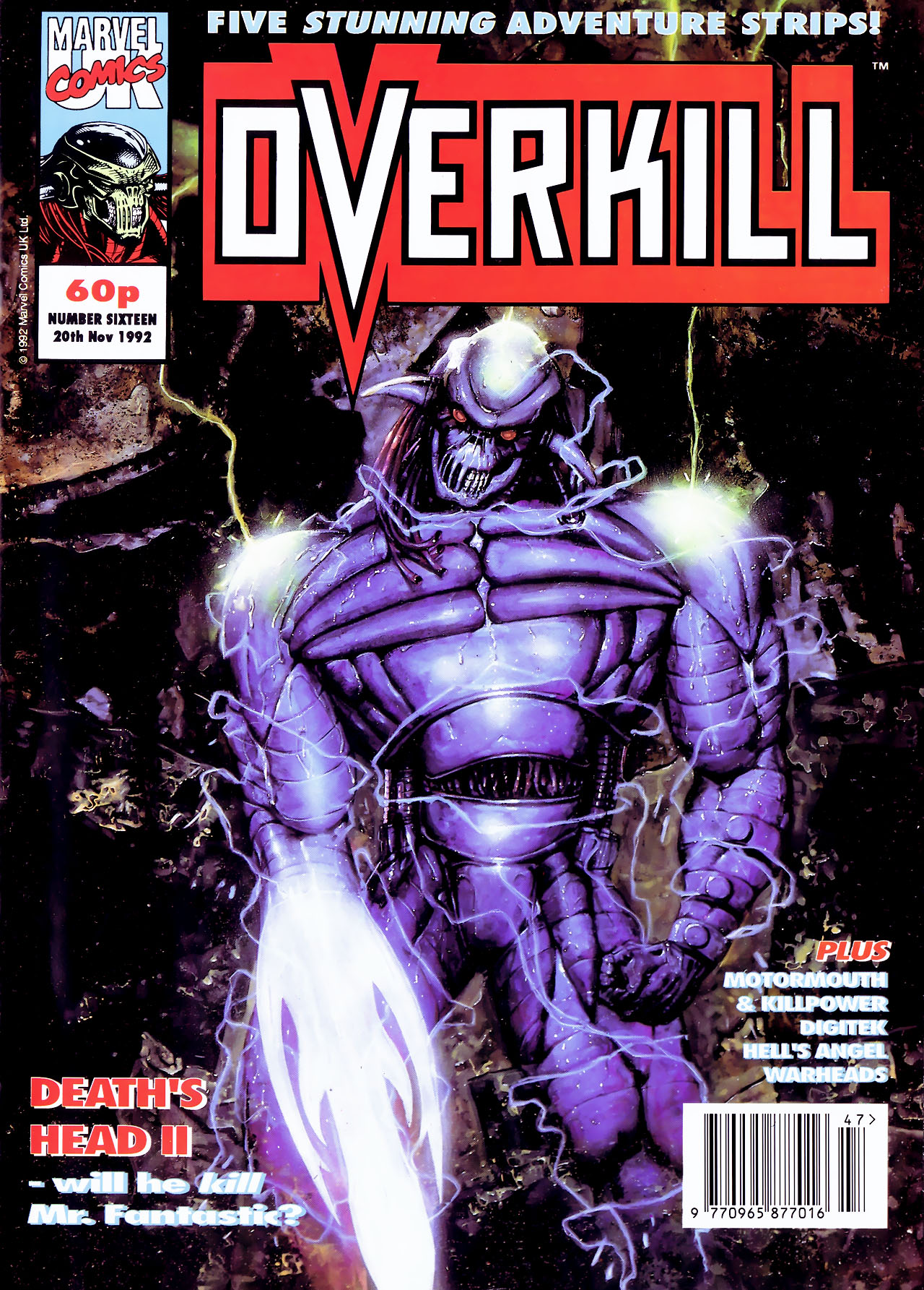 Read online Overkill comic -  Issue #16 - 1