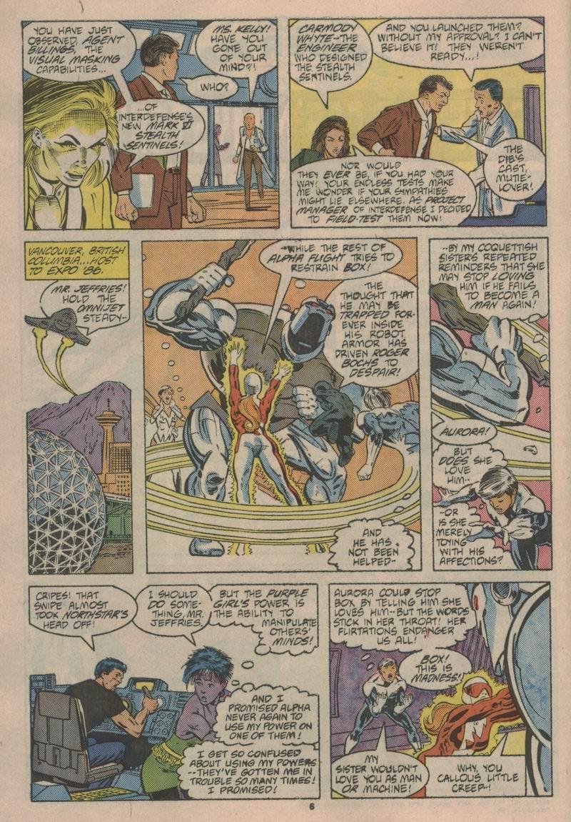 Read online Alpha Flight (1983) comic -  Issue #43 - 7