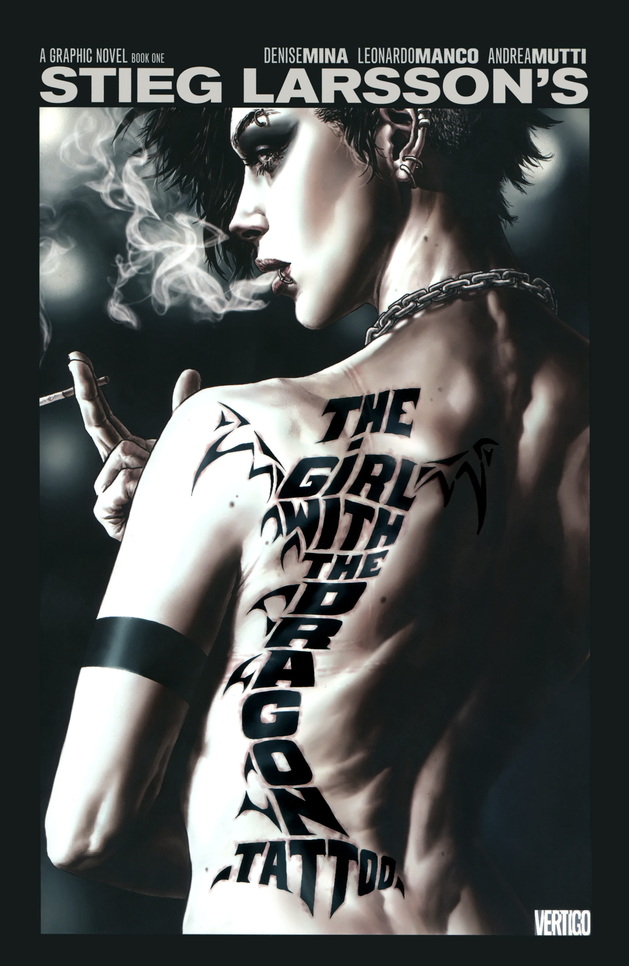 Read online The Girl With the Dragon Tattoo comic -  Issue # TPB 1 - 1