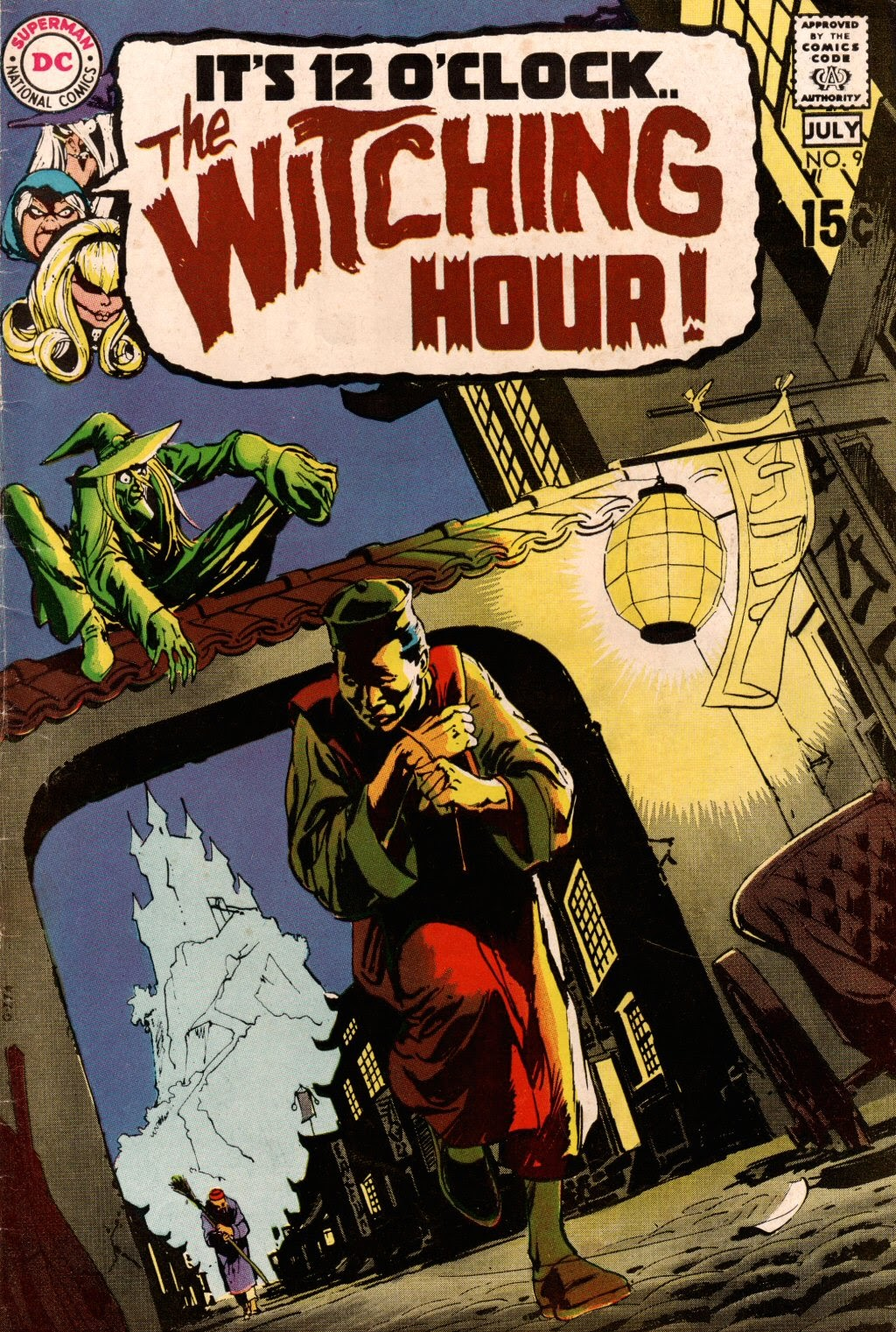 The Witching Hour (1969) issue 9 - Page 1