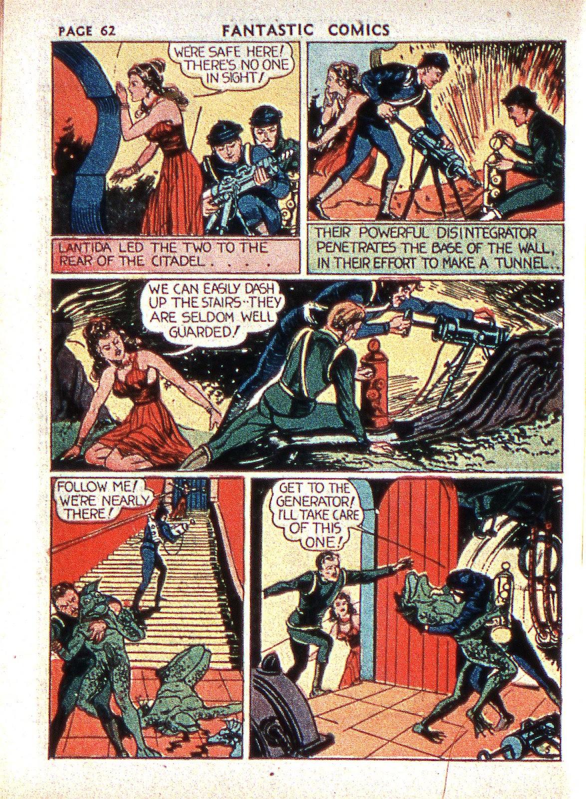 Read online Fantastic Comics comic -  Issue #2 - 63