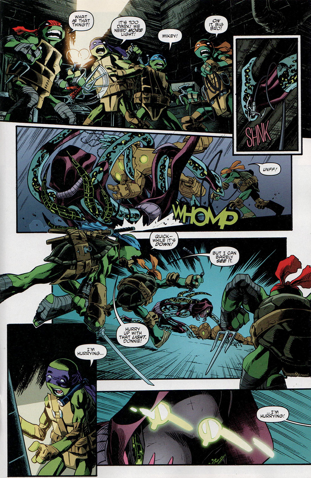 Read online Free Comic Book Day 2017 comic -  Issue # Teenage Mutant Ninja Turtles - 15