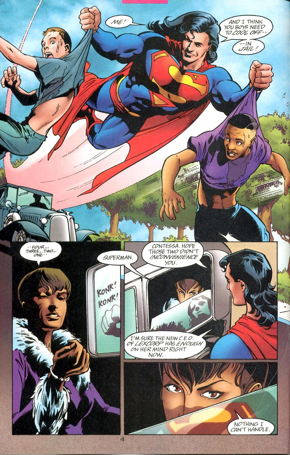 Read online Adventures of Superman (1987) comic -  Issue #527 - 5