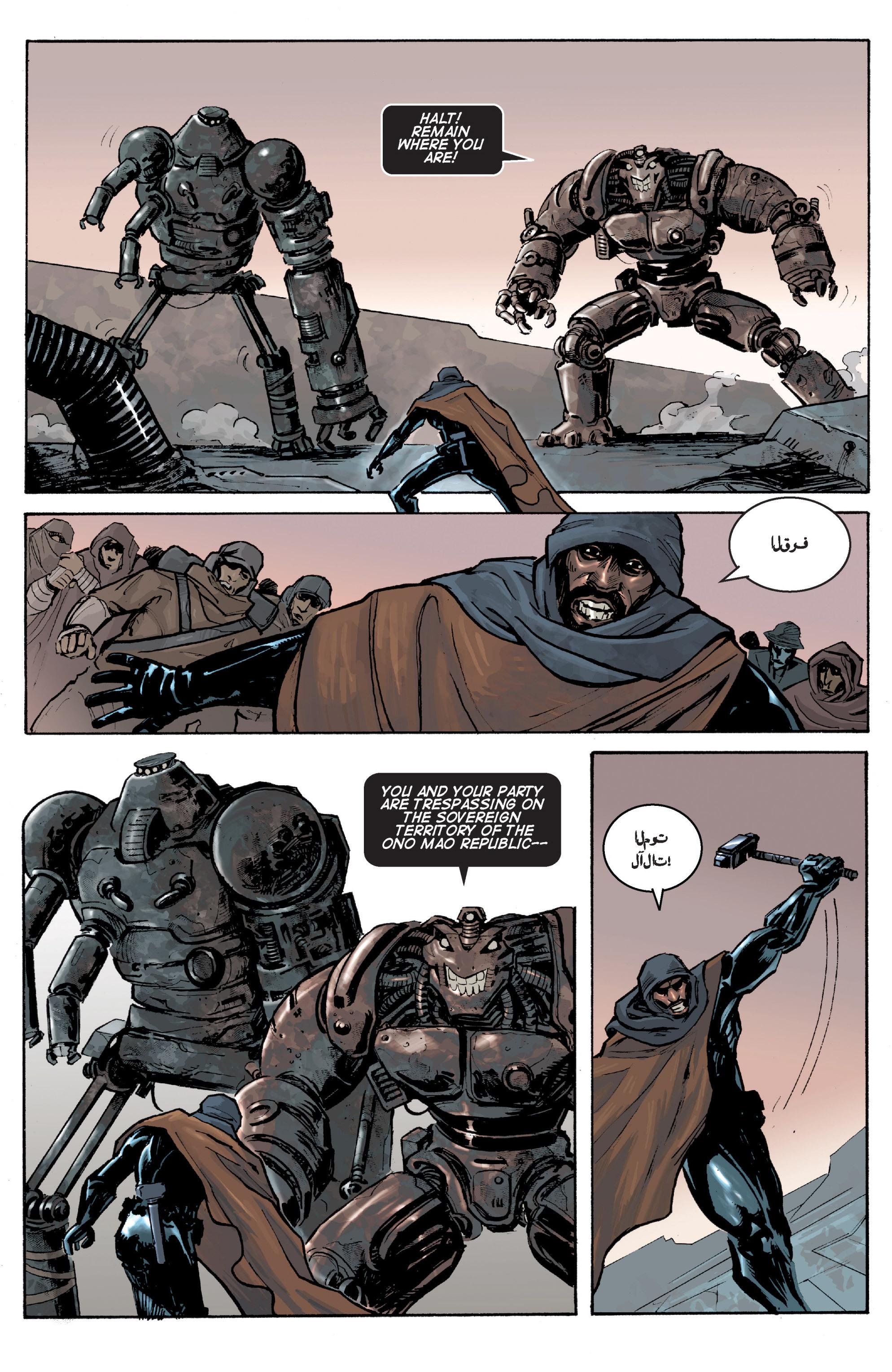 Read online Planetoid comic -  Issue # TPB - 42