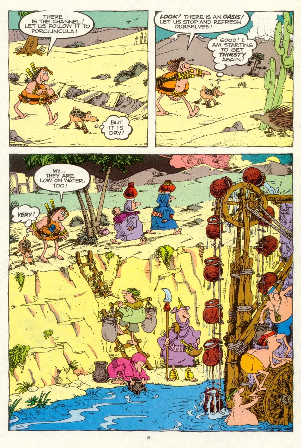 Read online Sergio Aragonés Groo the Wanderer comic -  Issue #94 - 6