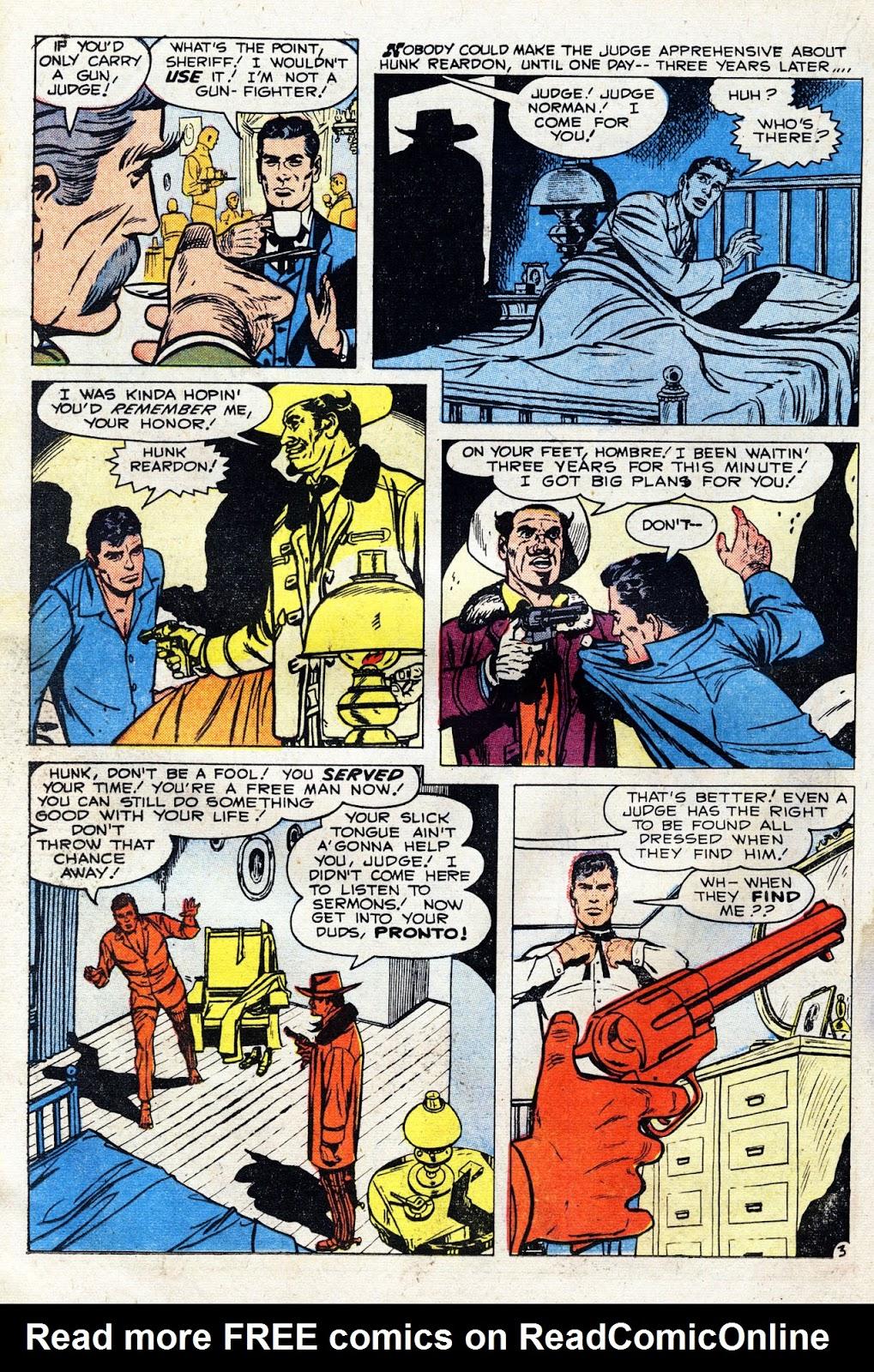 Gunsmoke Western issue 60 - Page 22
