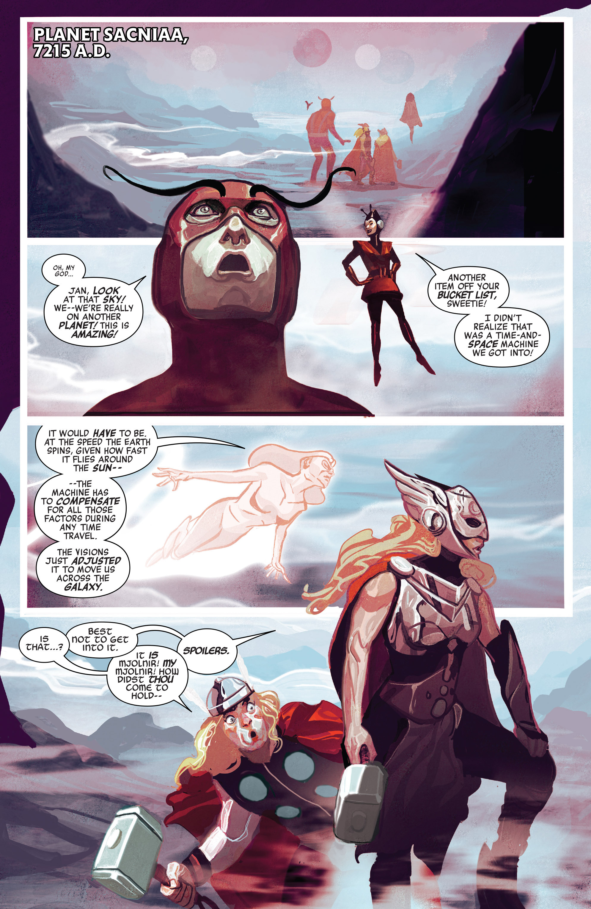 Read online Avengers (2016) comic -  Issue #5 - 16