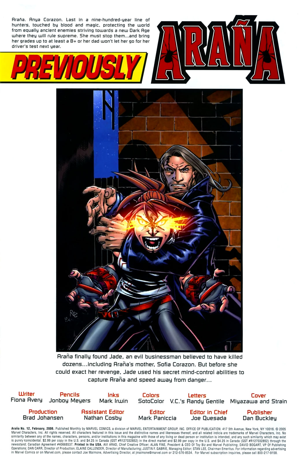 Read online Araña: Heart of the Spider comic -  Issue #12 - 2