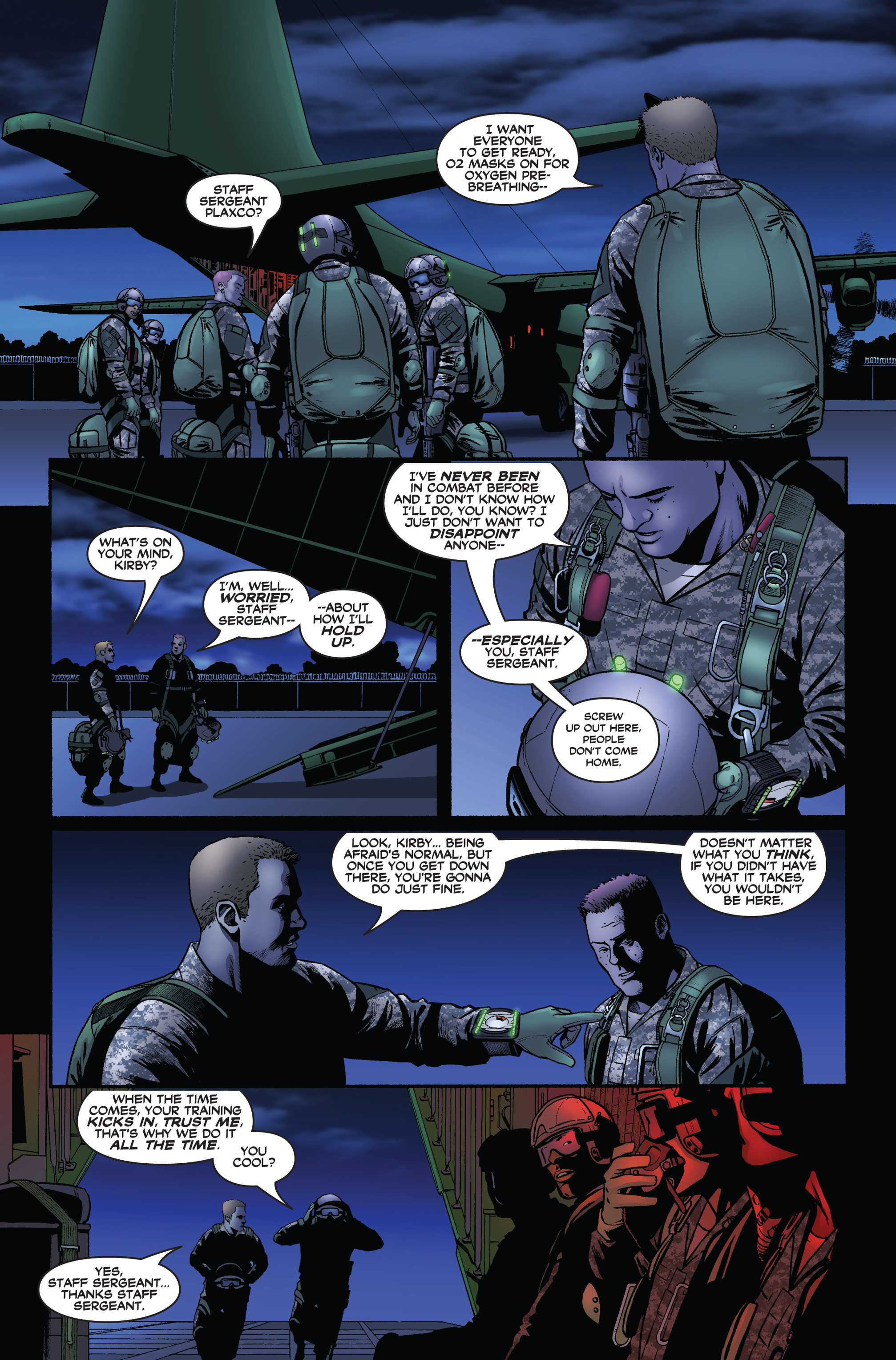 Read online America's Army comic -  Issue #1 - 14