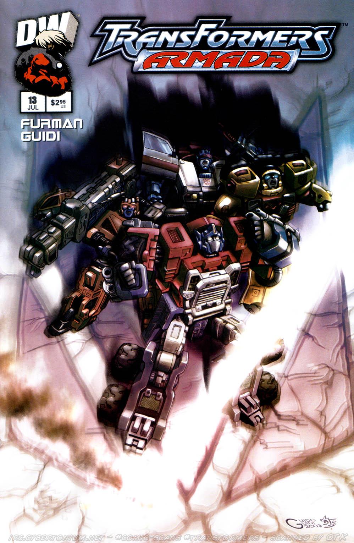 Read online Transformers Armada comic -  Issue #13 - 1
