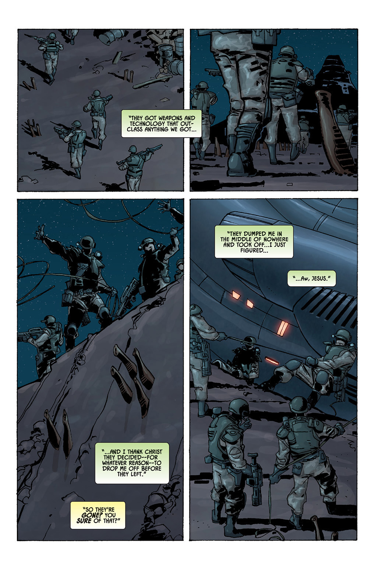 Read online Aliens vs. Predator: Three World War comic -  Issue #2 - 5