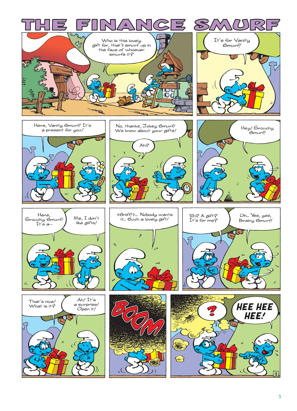 Read online The Smurfs comic -  Issue #18 - 5