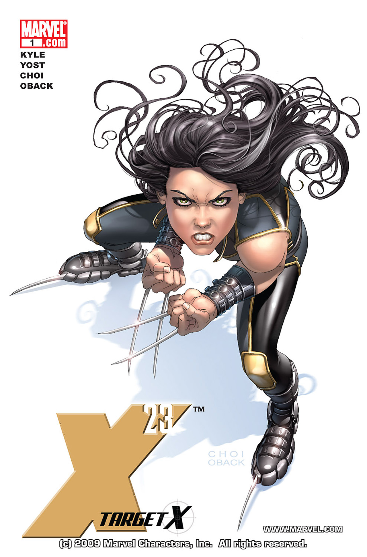 Read online X-23: Target X comic -  Issue #1 - 1