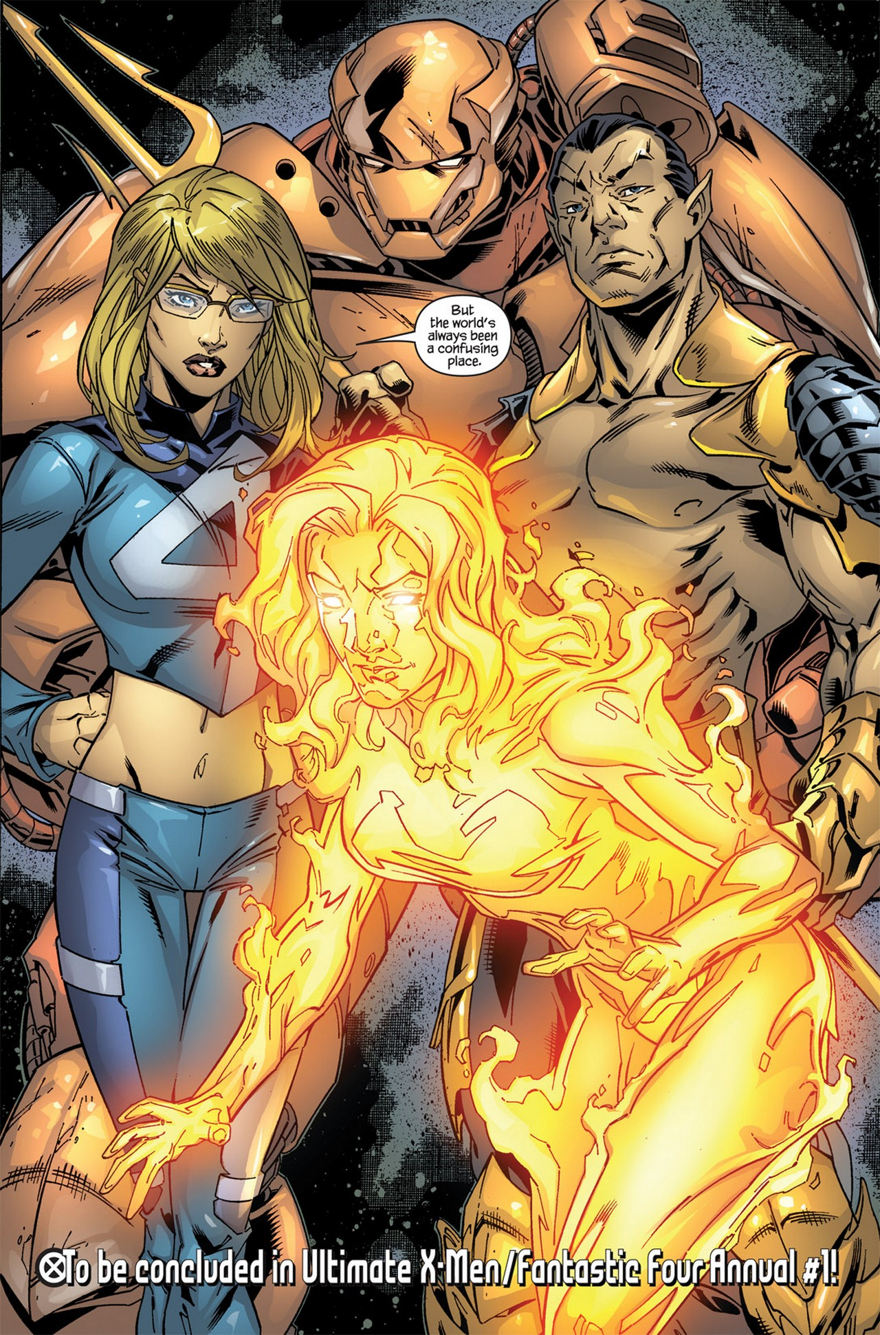 Read online Ultimate X-Men/Ultimate Fantastic Four Annual comic -  Issue # Full - 34