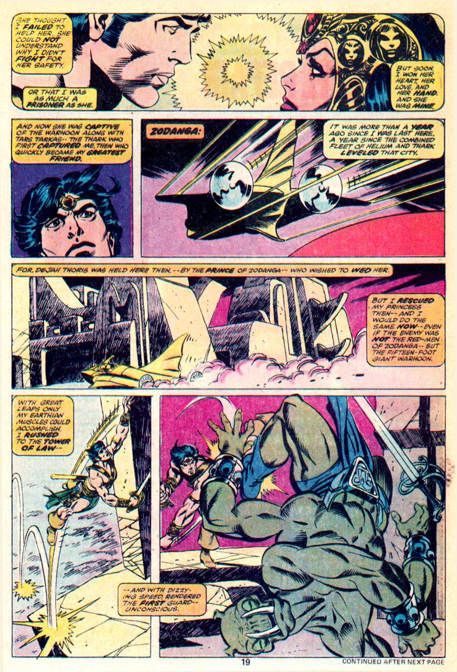 John Carter Warlord of Mars issue 1 - Page 13