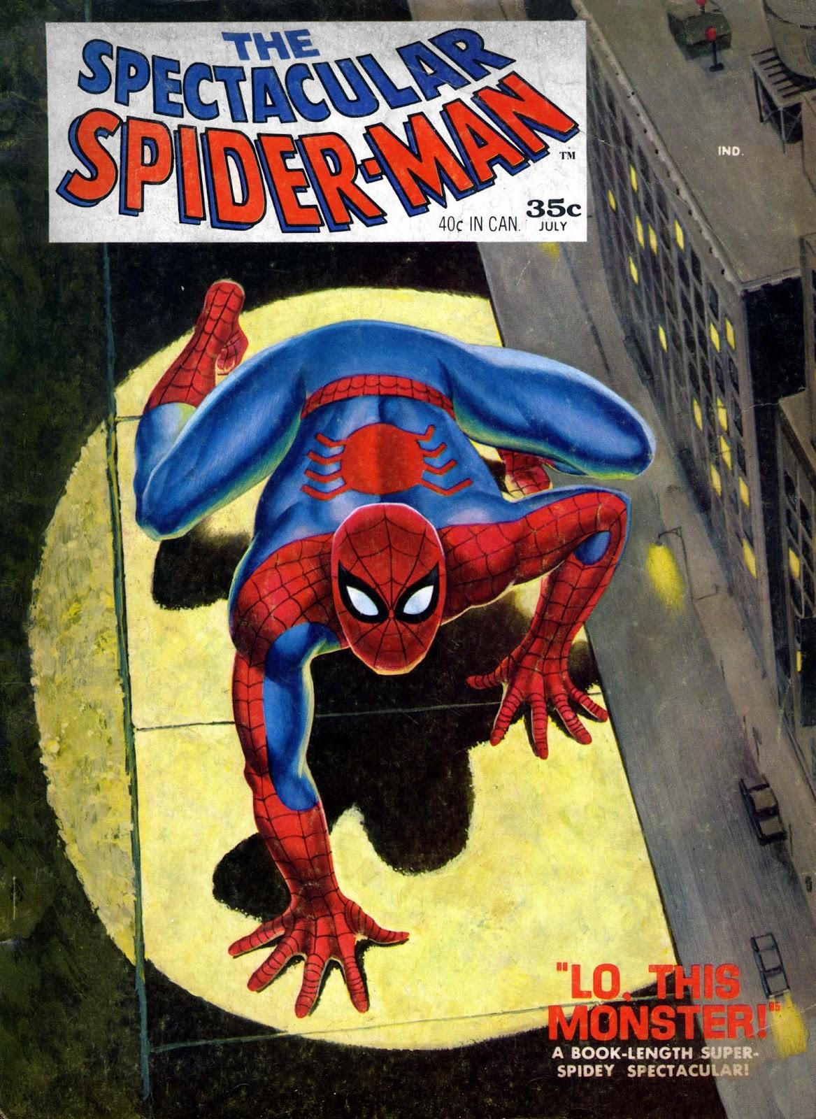 Spectacular Spider-Man Magazine issue 1 - Page 1