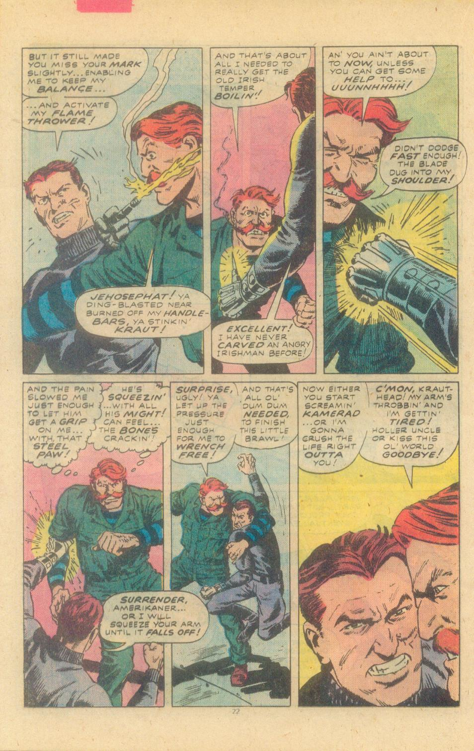 Read online Sgt. Fury comic -  Issue #155 - 24