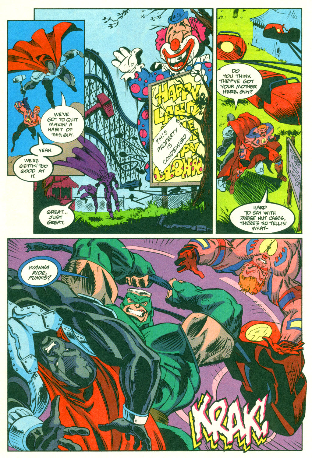 Read online Showcase '96 comic -  Issue #2 - 8
