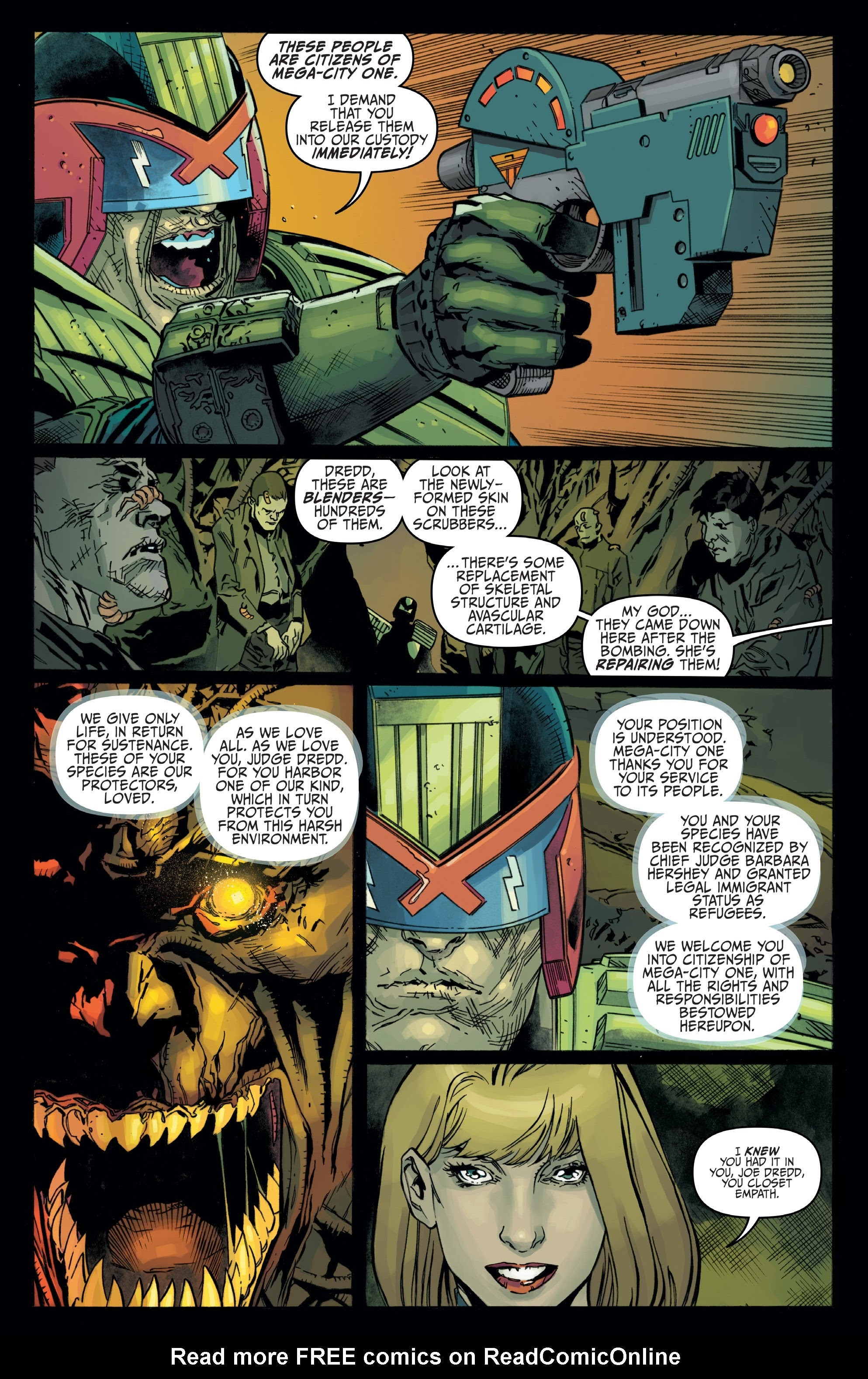 Judge Dredd: Toxic #4 #4 - English 6