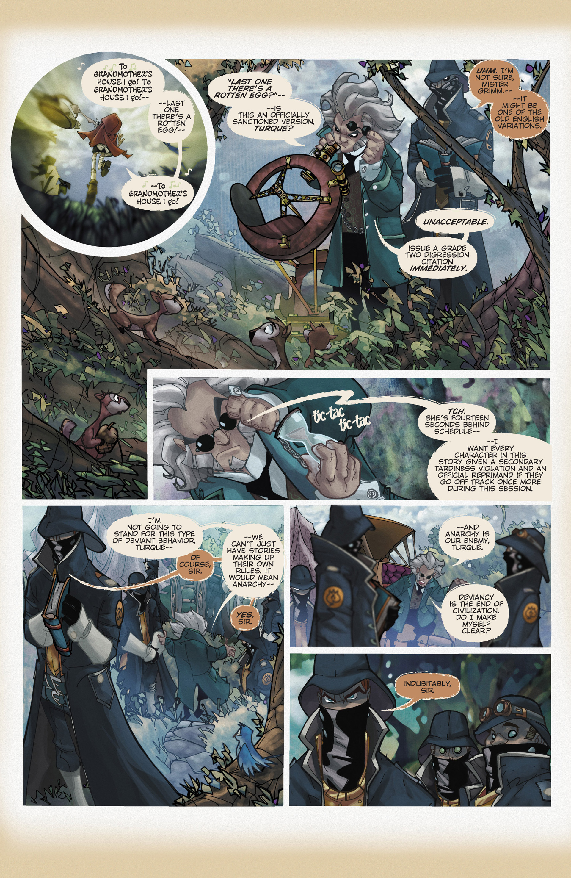 Read online Fairy Quest: Outlaws comic -  Issue #1 - 7