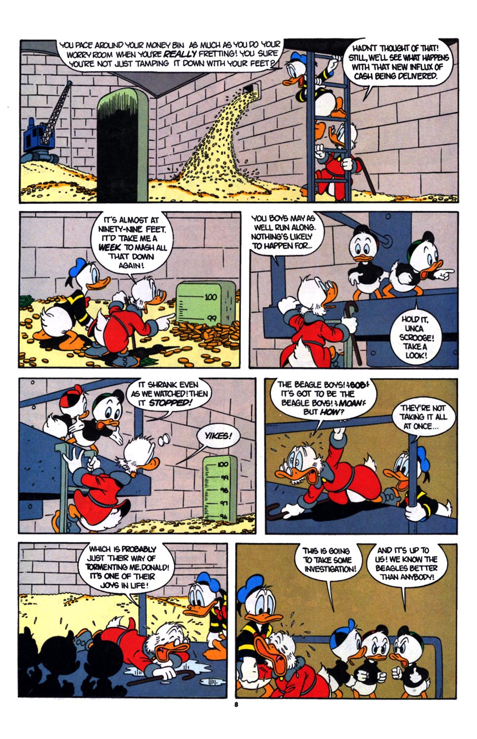Read online Uncle Scrooge (1953) comic -  Issue #254 - 9