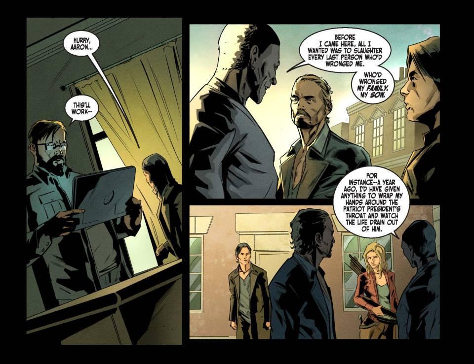 Read online Revolution (2015) comic -  Issue #2 - 19