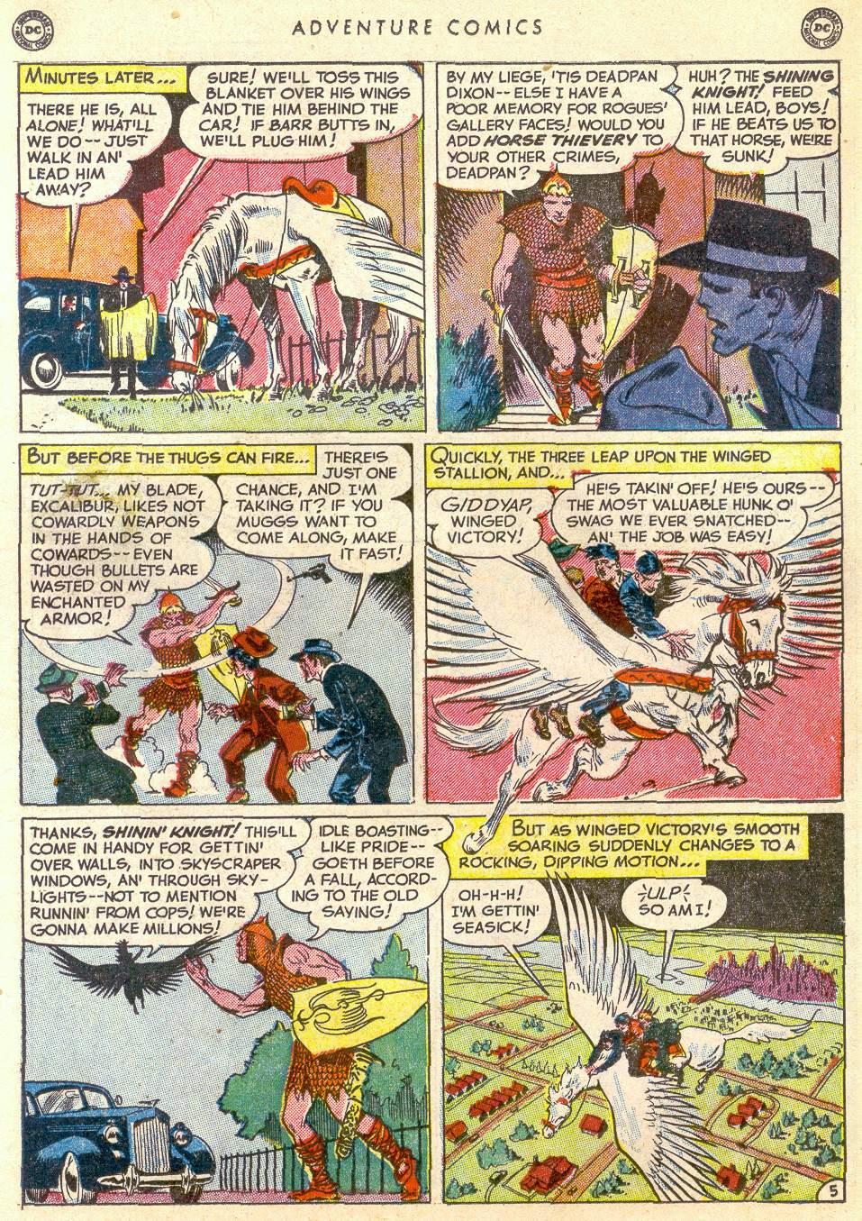 Read online Adventure Comics (1938) comic -  Issue #161 - 21