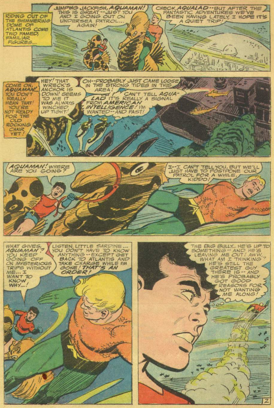 Read online Aquaman (1962) comic -  Issue #31 - 4