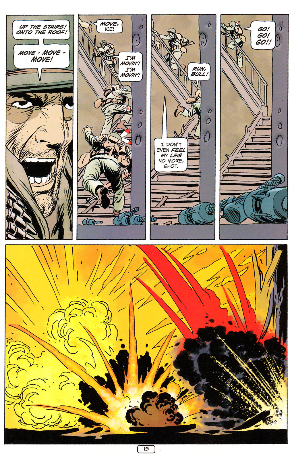 Read online Sgt. Rock: The Prophecy comic -  Issue #6 - 15