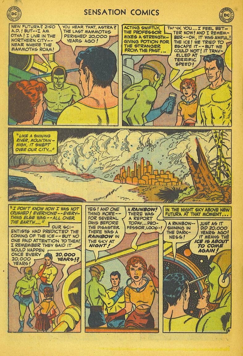 Read online Sensation (Mystery) Comics comic -  Issue #104 - 30