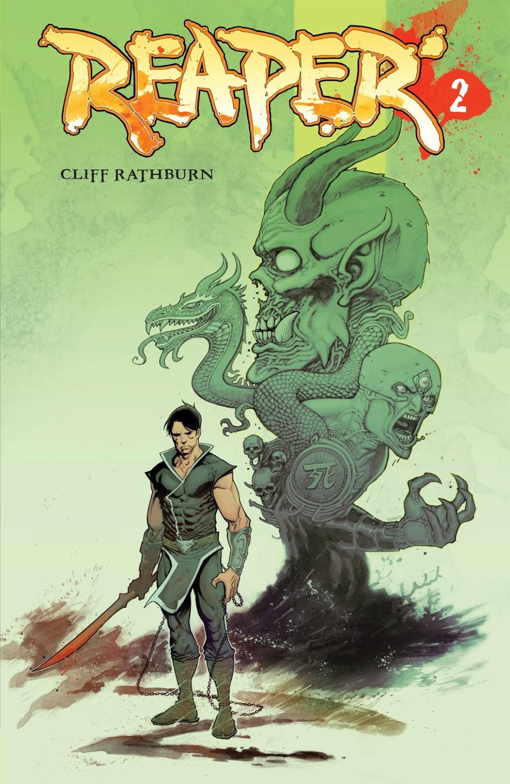 Read online Reaper comic -  Issue #2 - 1