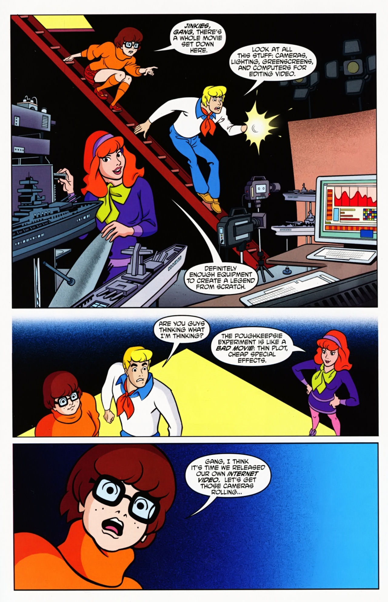 Read online Scooby-Doo: Where Are You? comic -  Issue #11 - 13