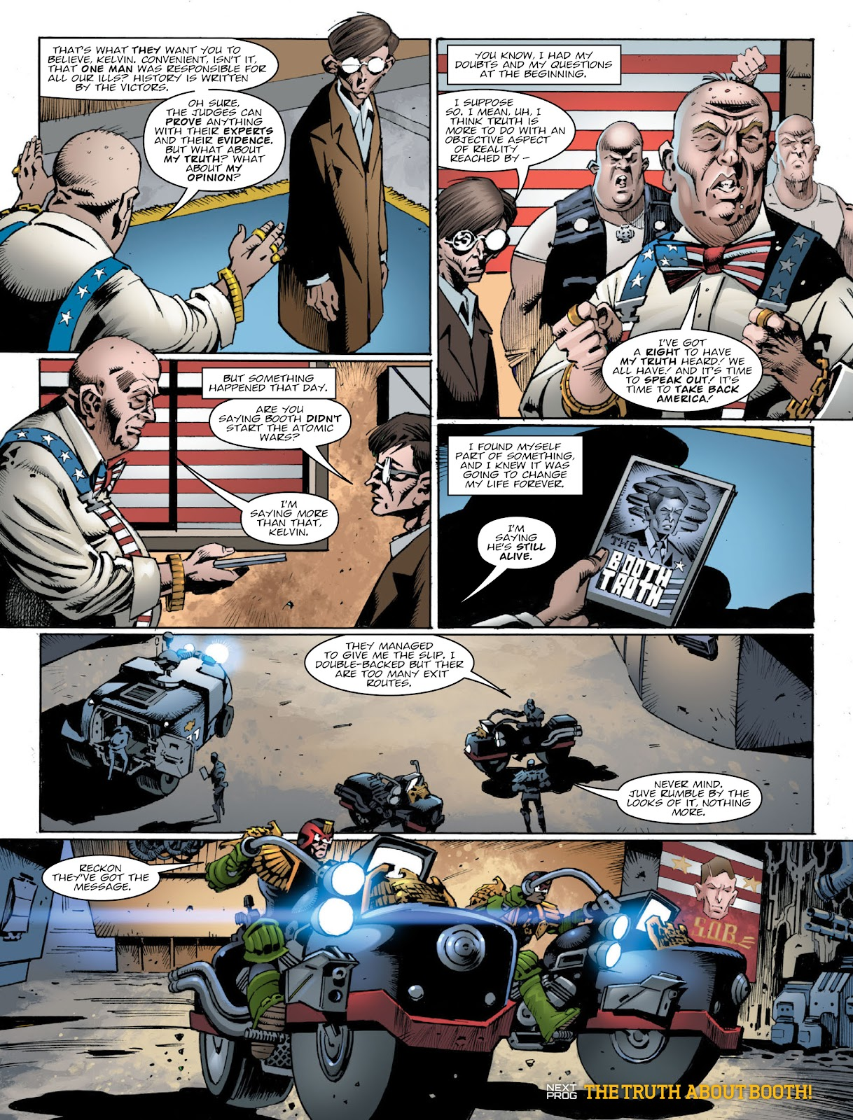 Read online 2000 AD comic -  Issue #2030 - 8