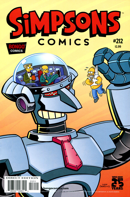 Simpsons Comics 212 Page 1