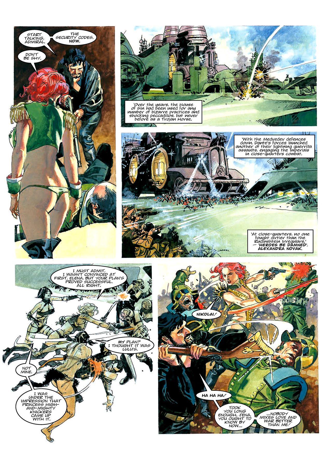 Read online Nikolai Dante comic -  Issue # TPB 10 - 17