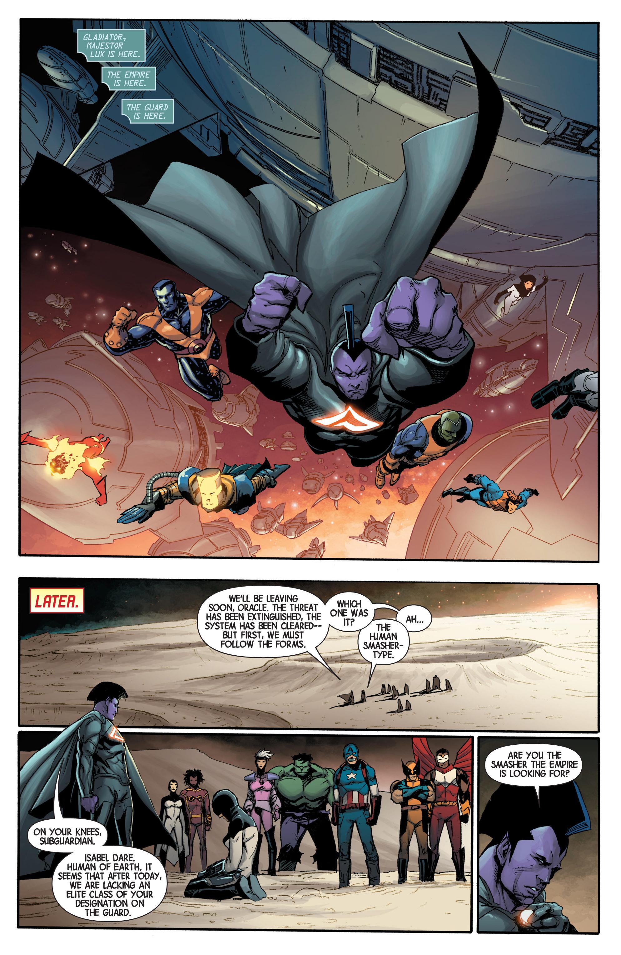 Read online Avengers (2013) comic -  Issue #Avengers (2013) _TPB 1 - 122