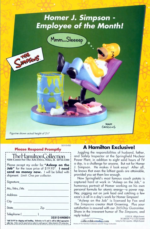 Read online Simpsons Comics comic -  Issue #72 - 29