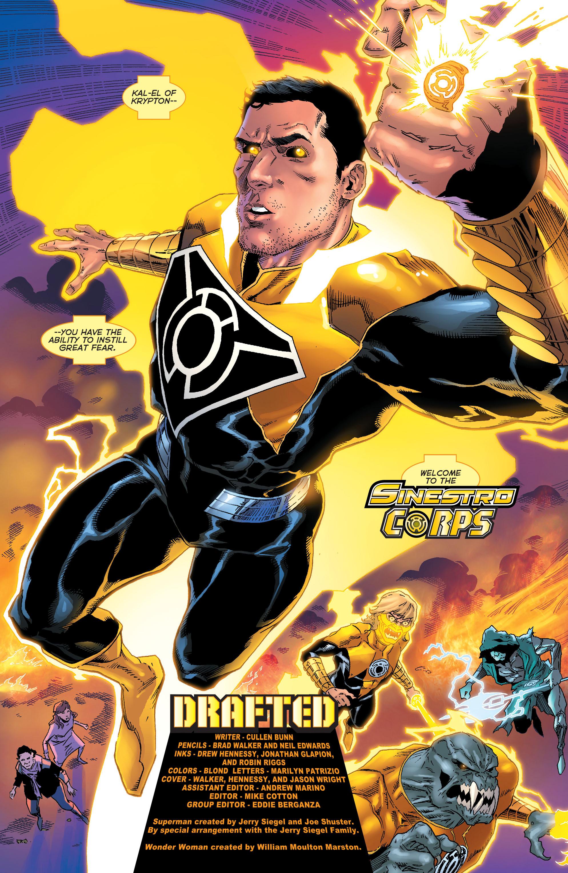 Read online Sinestro comic -  Issue #18 - 20